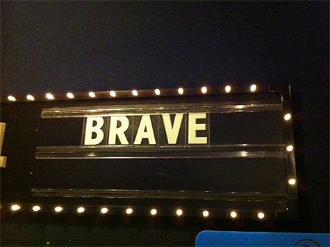 BRAVE - featuring Disney Pixar's first female protagonist!