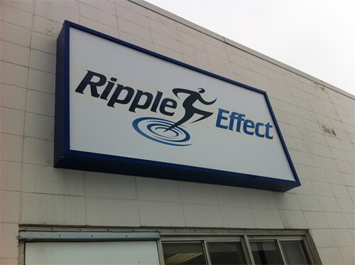 Ripple Effect Personal Training at 9602A 60 Avenue.
