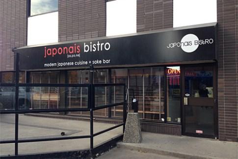 Japonais Bistro at 11806 Jasper Avenue.