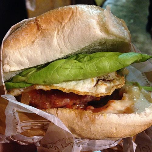 Delicious $5 #yegalleyburger.
