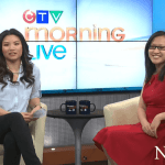 On CTV Morning Live March 12, 2014 - talking about some of Edmonton's new restaurants!