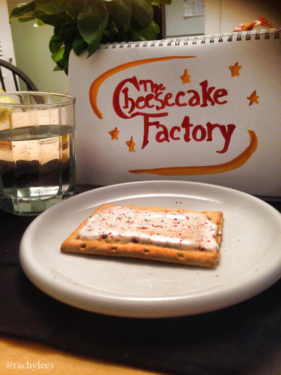 Cheesecake Factory - Broke Canadian Art