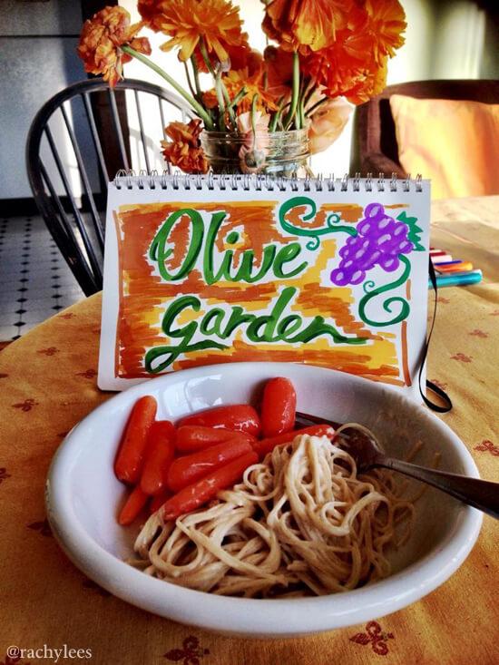 Olive Garden - Broke Canadian Art