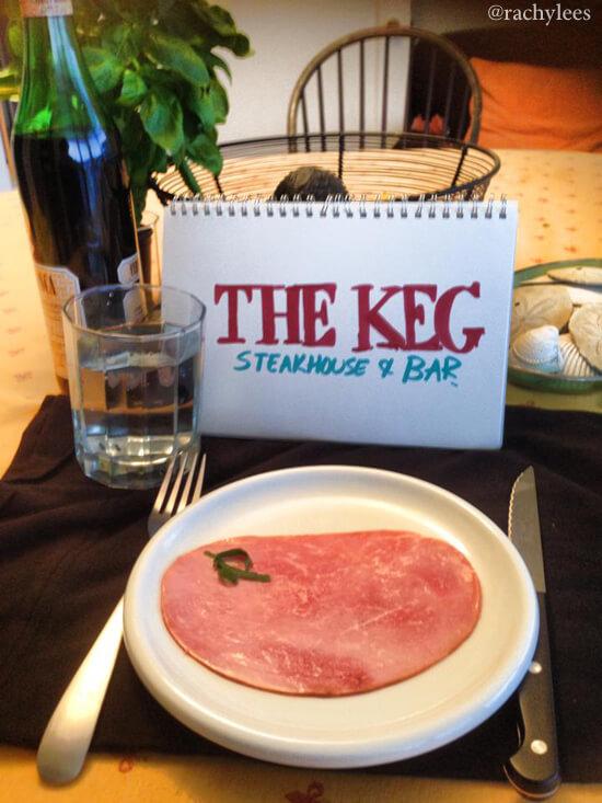 The Keg - Broke Canadian Art