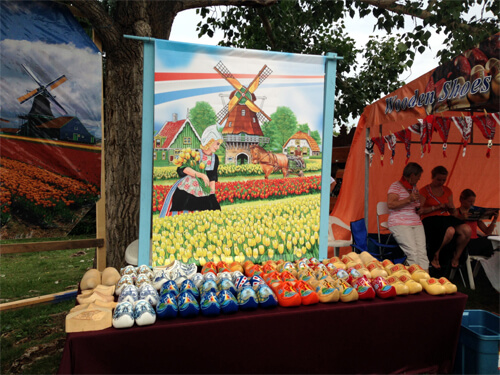 Wooden shoes! Love the different cultural displays.
