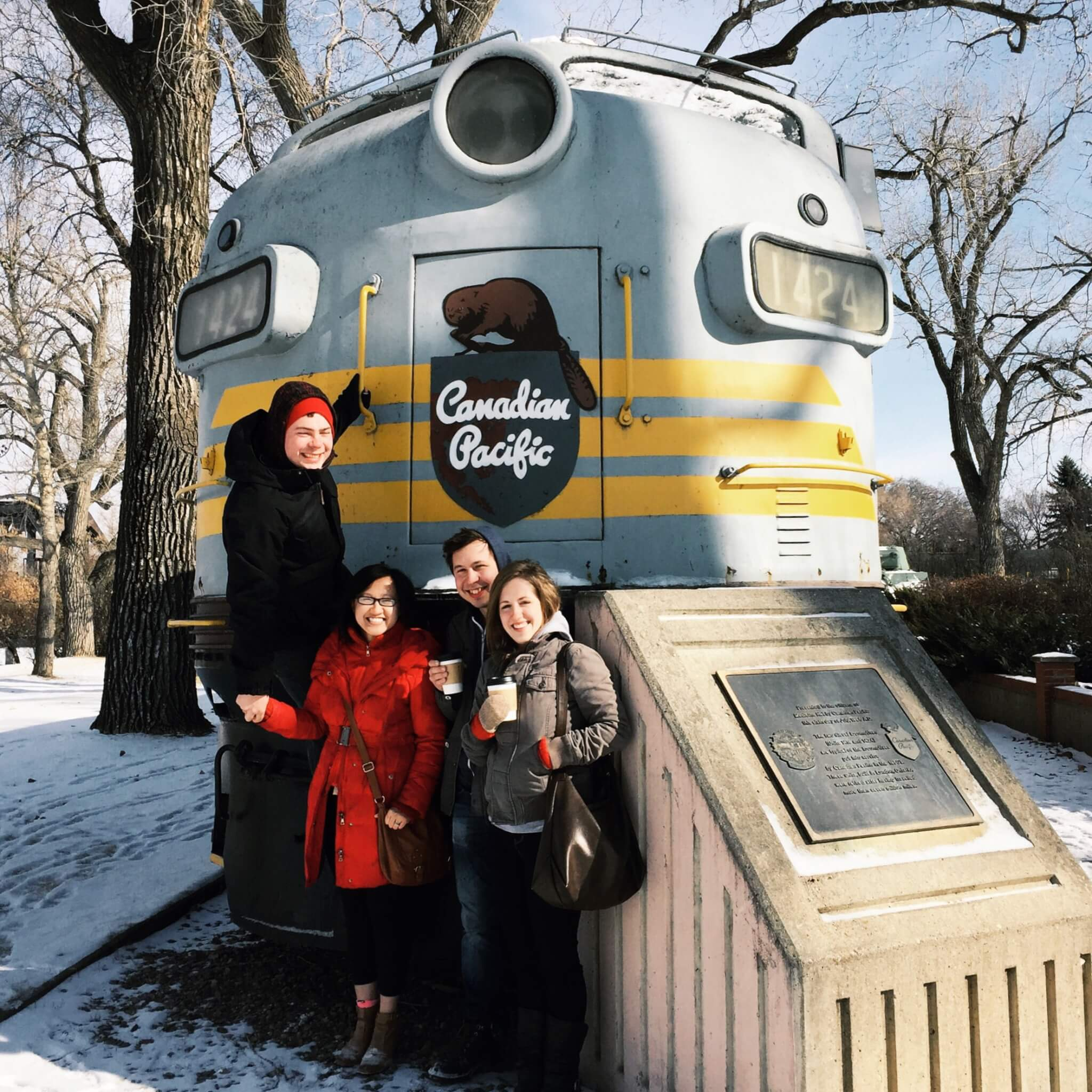 The Canadian Pacific Railway has a big presence in Medicine Hat!