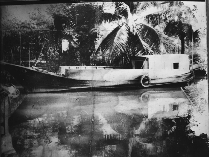Dad built this boat to escape Vietnam.