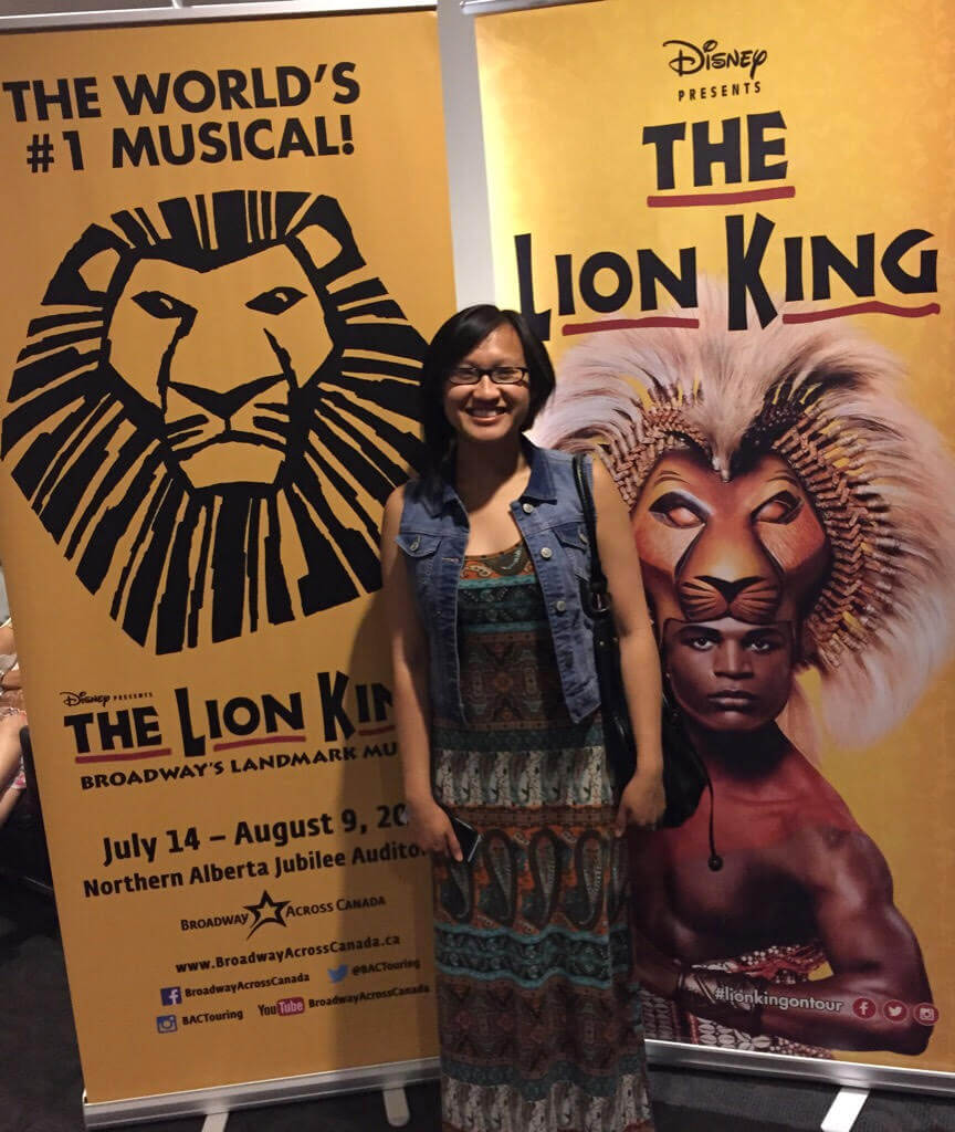 The Lion King Musical was amazing!