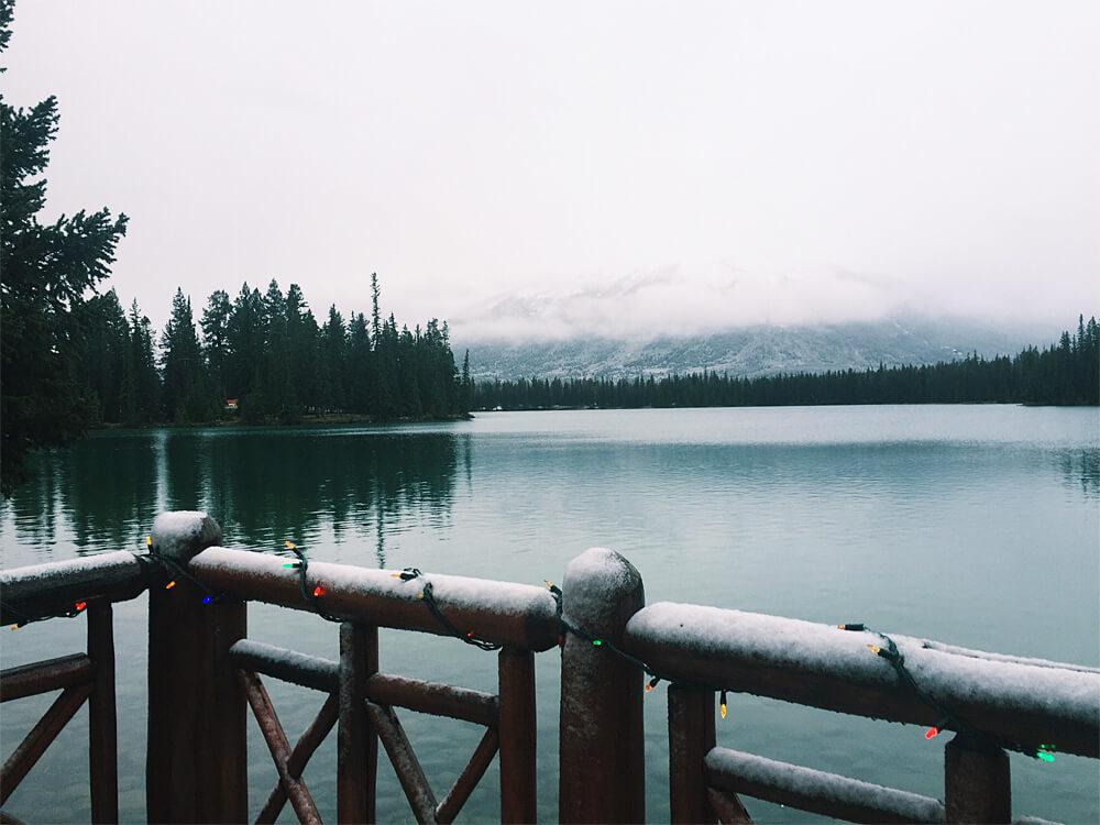 Christmas in November Lac Beauvert