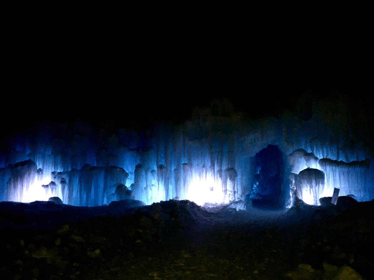 Explore Edmonton: Ice Castle at Hawrelak Park