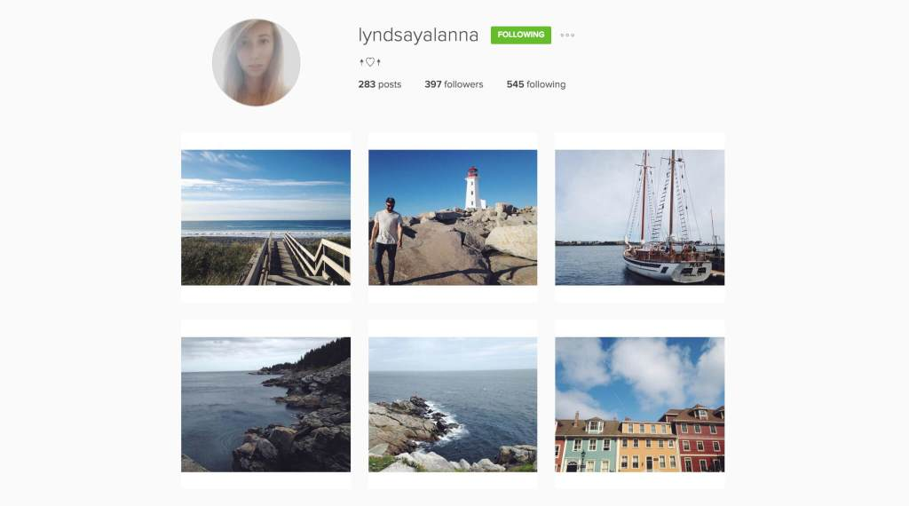 Top Edmonton Instagram Users - lyndsayalanna - Social Media
