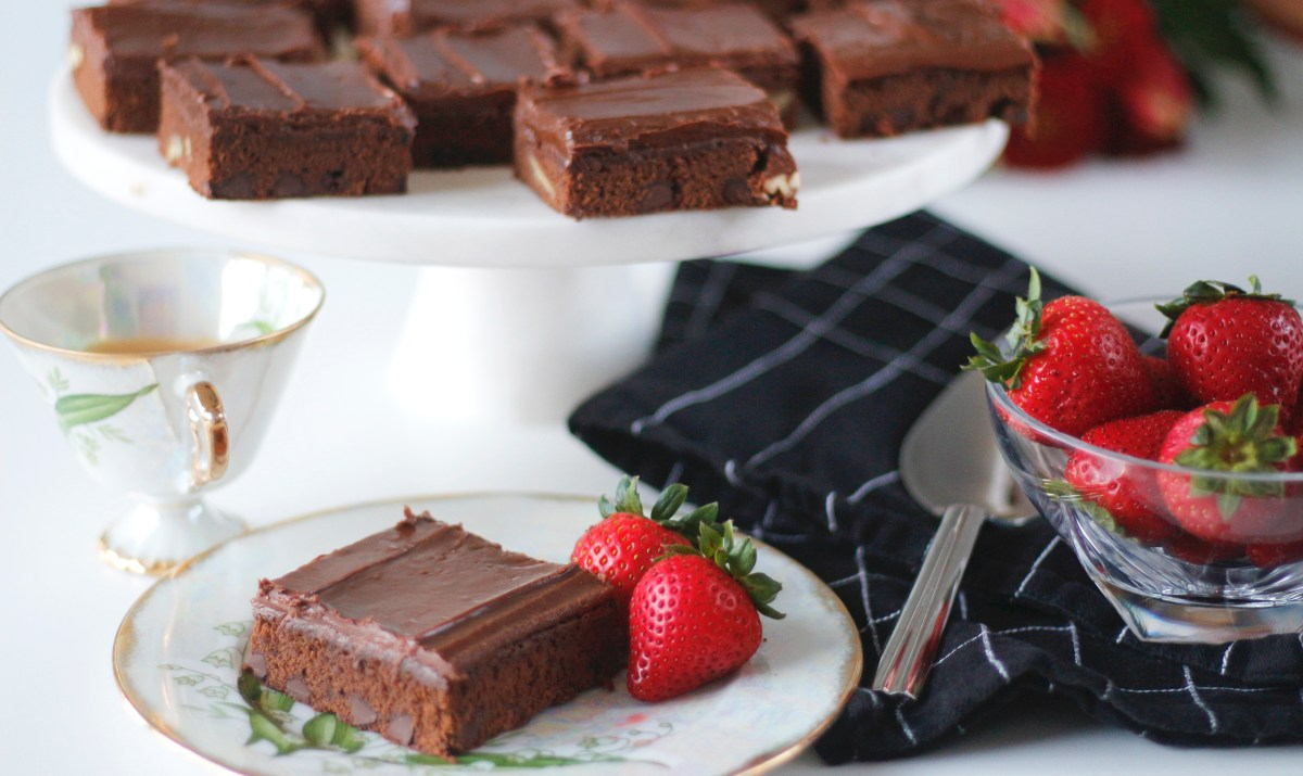 Expresso brownies
