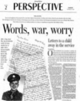 My essay about my grandmother's 11-11-1943 letter in the Chicago Tribune Perspective section.