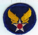 Army Air Corps shoulder patch.