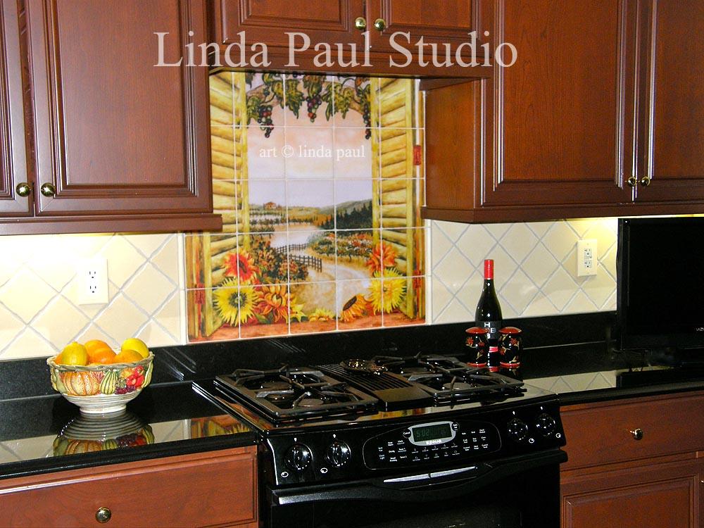 customer reviews linda paul tile murals kitchen backsplashes pics photos tile mural kitchen tile backsplash