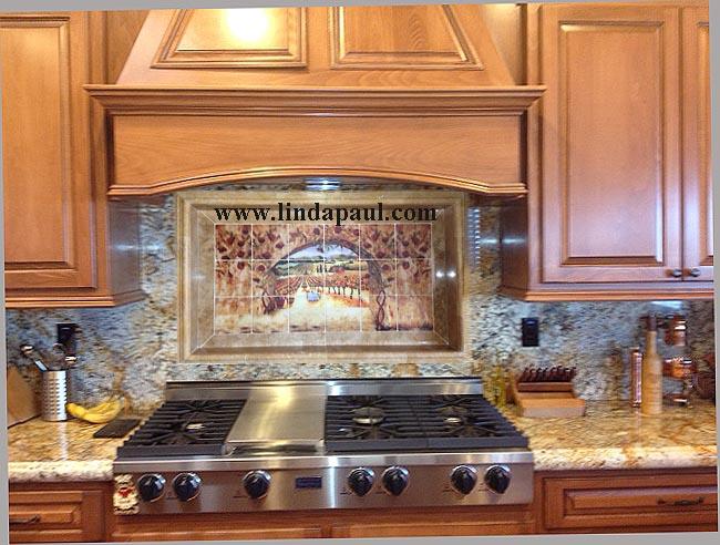 mural granite backsplash stone border nice design idea italian kitchen backsplash design idea mediterranean kitchen