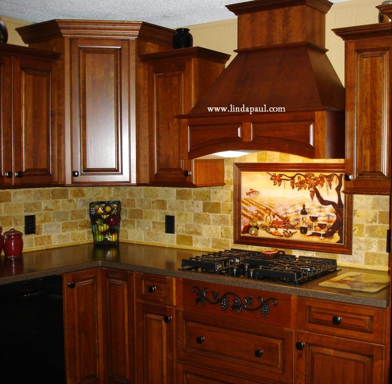 vineyard tile murals tuscan wine tiles kitchen backsplashes country kitchen backsplash ideas pictures