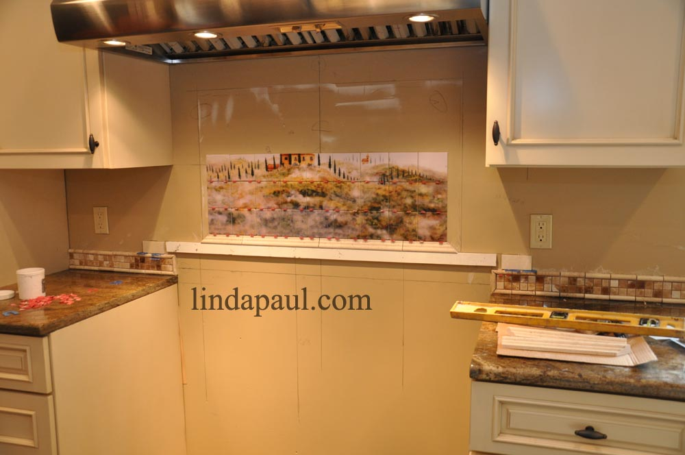 backsplash installation install kitchen backsplash ceramic tile mural kitchen tiles