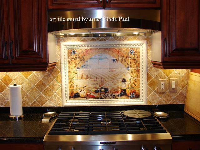 backsplash tile murals tile murals tuscany tuscan pics photos tile mural kitchen tile backsplash
