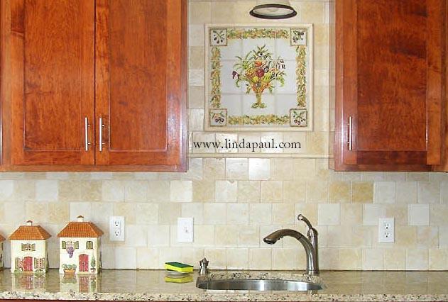 pics photos italian tile backsplash murals italian kitchen backsplash design idea mediterranean kitchen