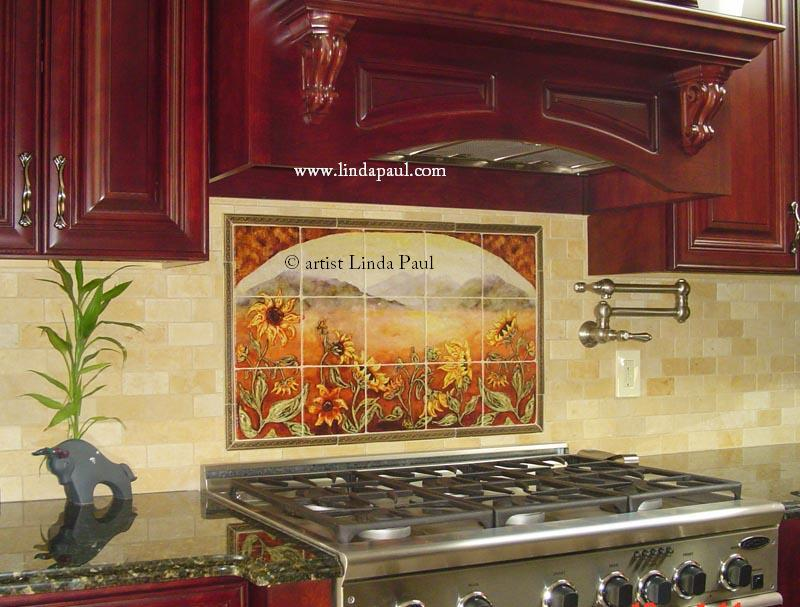 kitchen backsplash tile mural pictures ceramic tile mural kitchen tiles