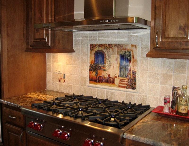 tile wall murals backsplashes france french villages wall tile classic wood mosaic tile kitchen backsplash mosaic tile