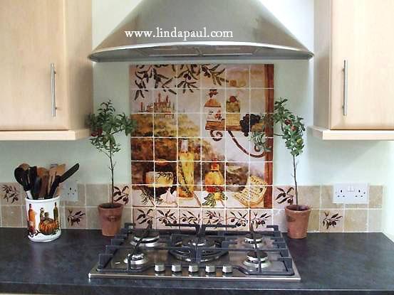 kitchen big beautiful mural italian kitchen backsplash design idea mediterranean kitchen