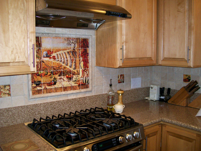 mexican tile murals chili pepper kitchen backsplash mural ceramic tile mural kitchen tiles
