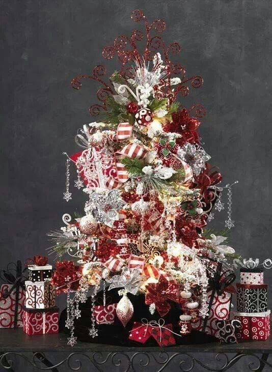 Overlesset juletre