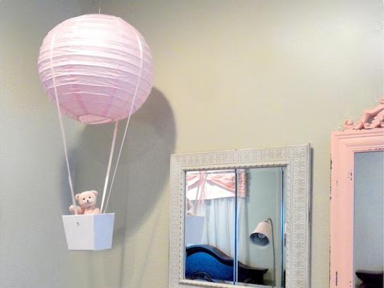 papirlanterne flygende ballong