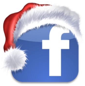 Facebook julelogo