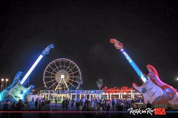 Las Vegas Rock in Rio inngang til konsertområdet
