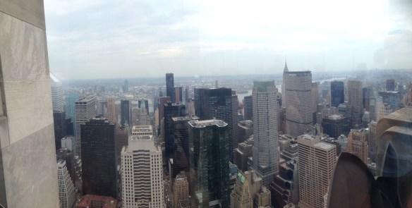 New York utsikt fra Rockefeller Center7