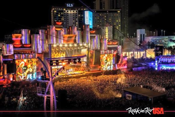 Rock in Rio Las Vegas Metallica på scenen