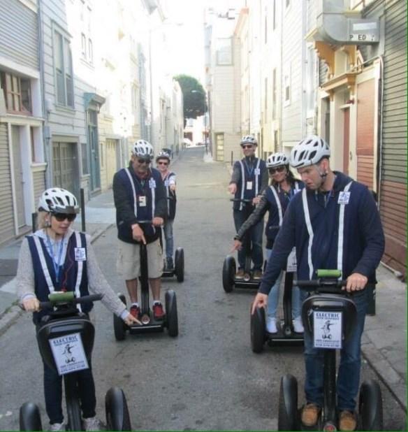 Segway San Francisco Gruppen