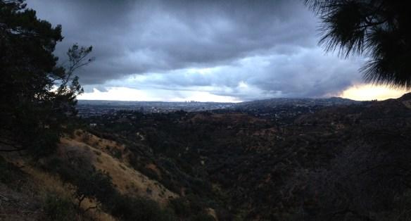 Utsikt fra Griffit Observatorie