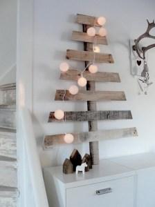 Juletre med hvite wow cottonlights woweffekt