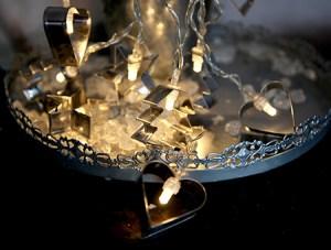 Lyslenke pepperkakeformer miljøbilde