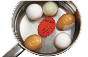Eggtimer miljøbilde i panne