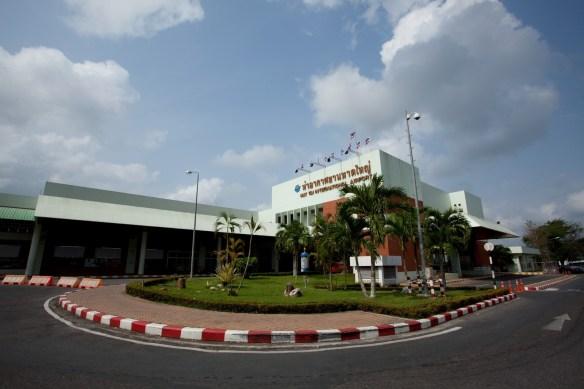 Hat Yai flyplass Thailand