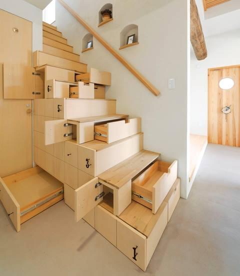spesiell trapp med lagring