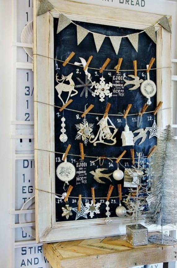 tips til bruk av tavle wallstickers adventskalender
