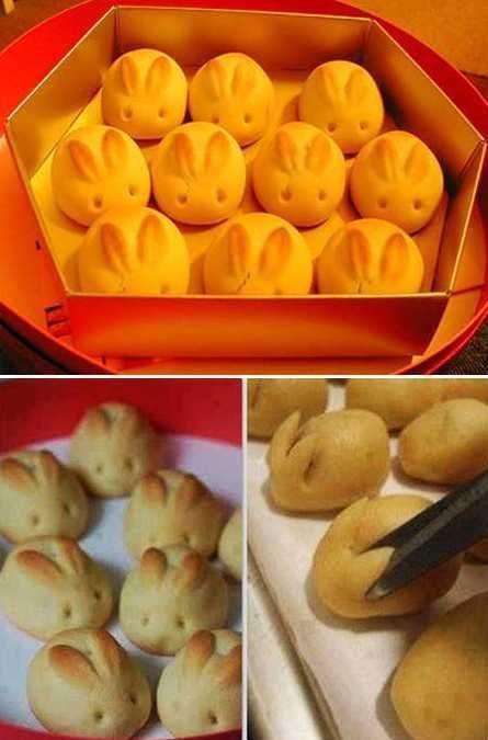 bakte påske kaniner