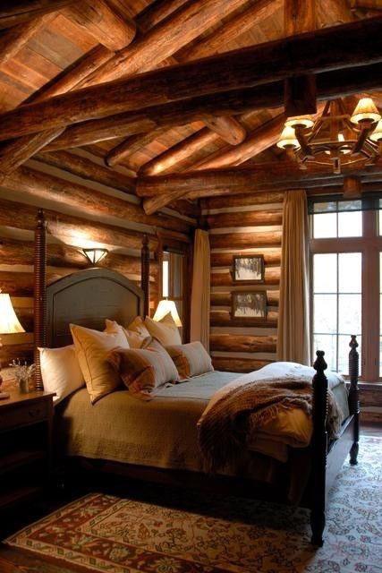 drømme soverom hytte