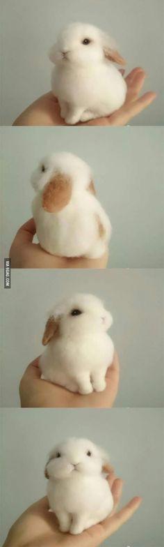 nåle filtet kanin påskepynt