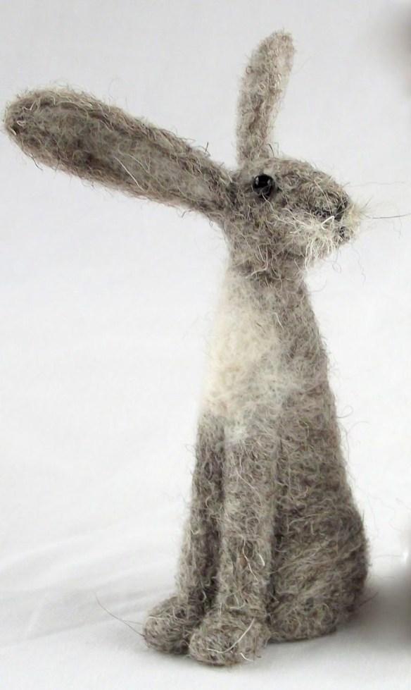 nålefilting kanin påske