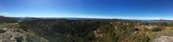 Utsikt fra toppen av Kolbeinsvarden – Kopi