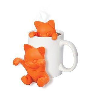 Teholder katt produktbilde med kopp