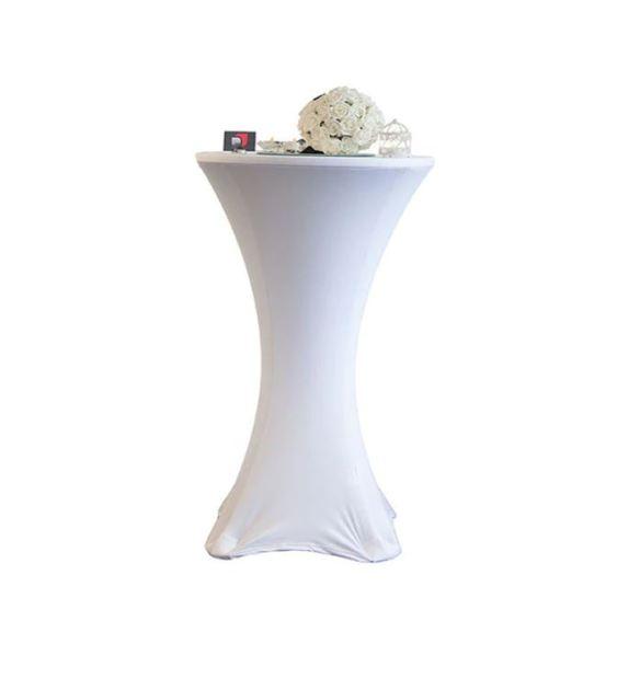 Coctail spandex bord trekk hvit miljøbilde