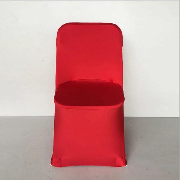 Stoltrekk til klappstol rød